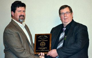 John Larimer Receives ICIA Award